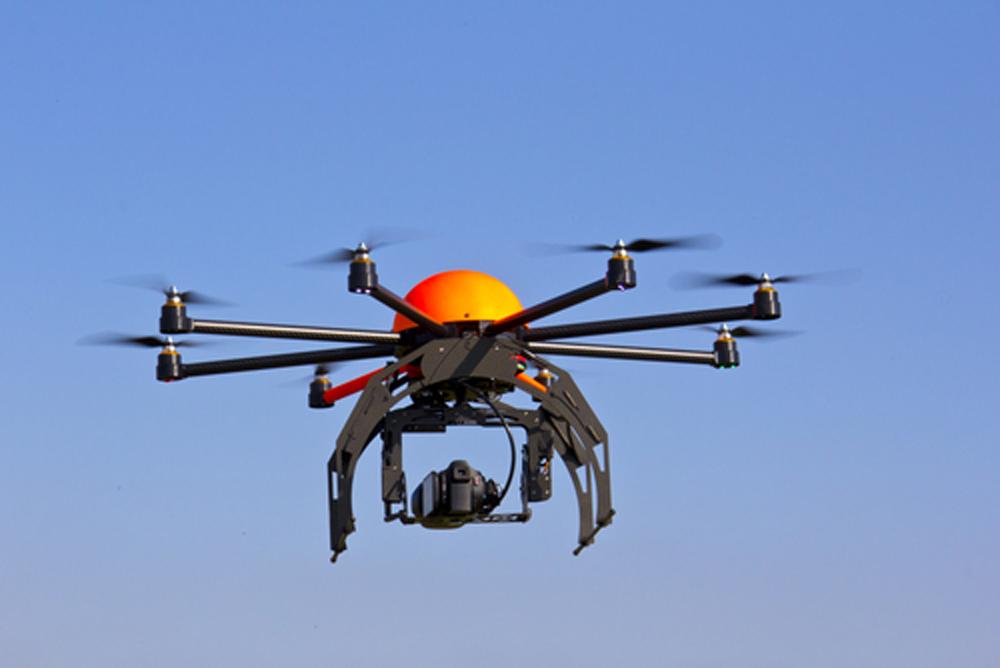 uas uav drone flying